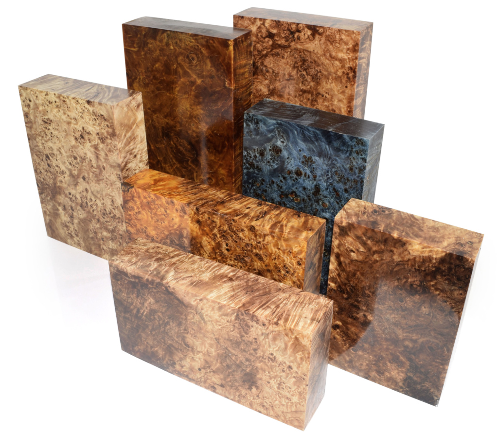 Raffir Wood Stabilized Poplar Burl The Art Of Materials