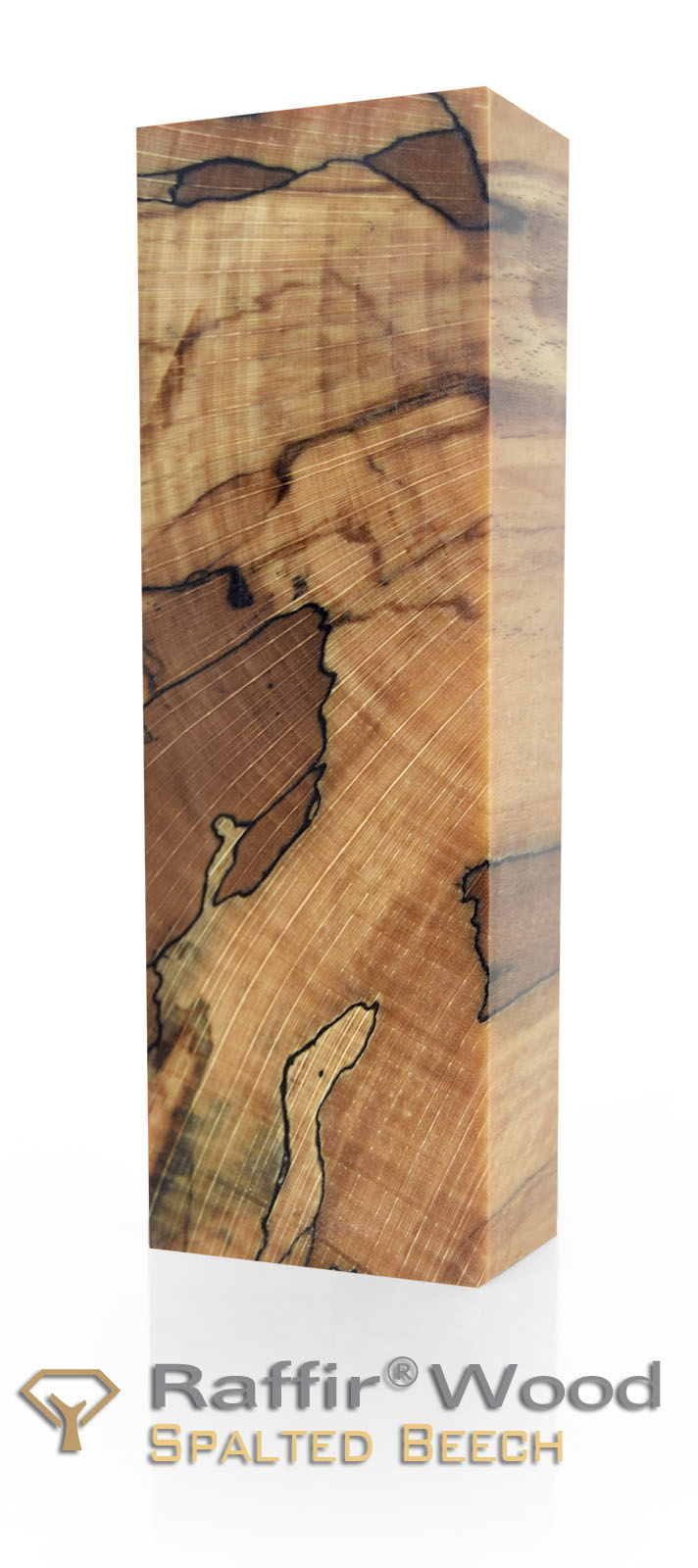 Raffir Wood - Stabilized Spalted Beech