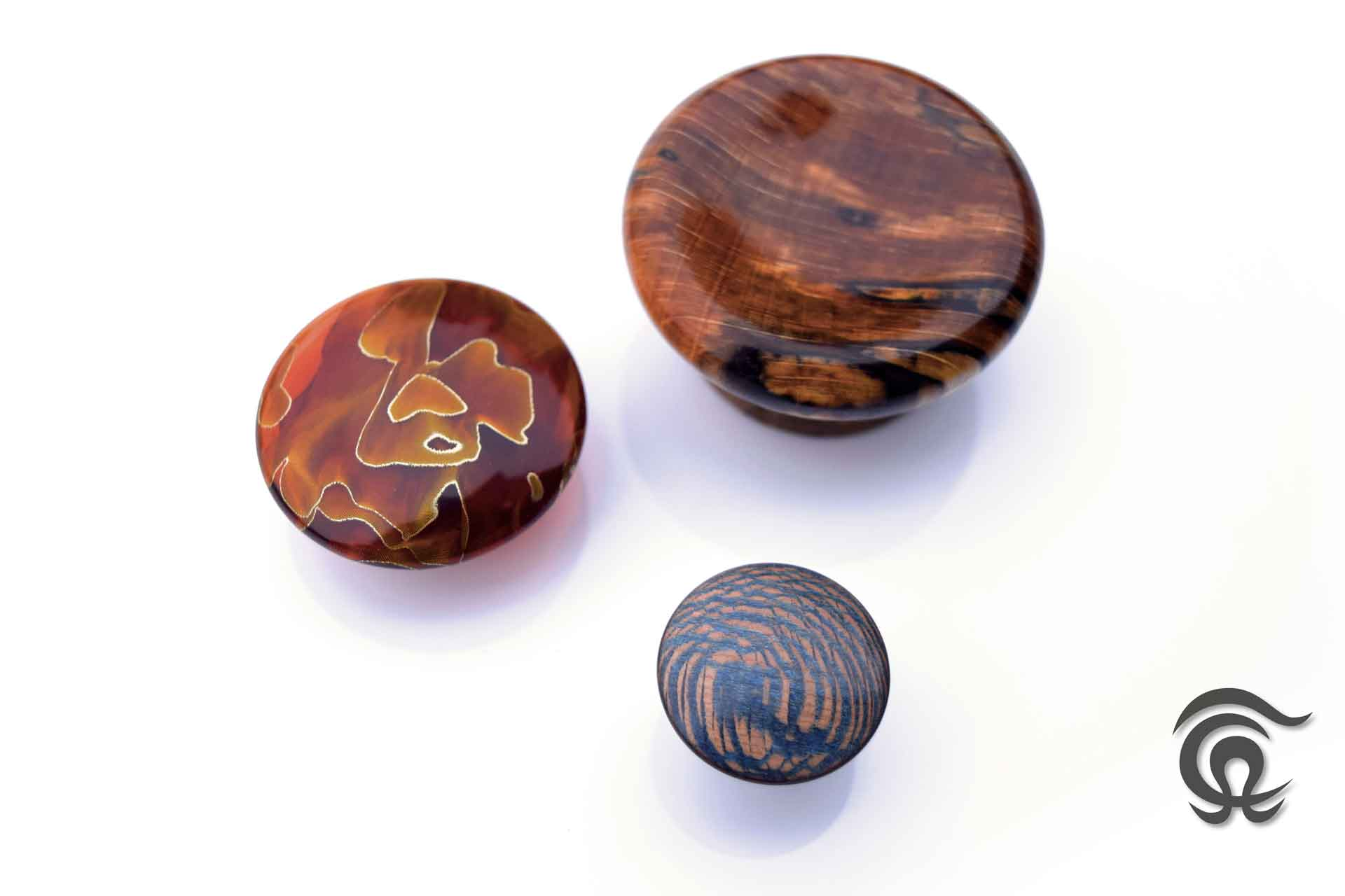 Tommy Astrup - Handle knobs - Raffir Wood & Raffir Noble